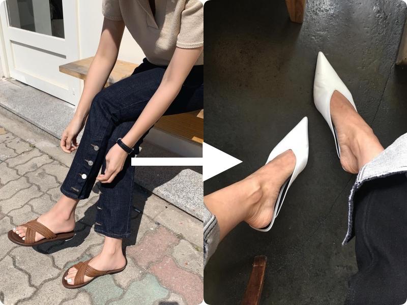 Ngay khi thu về, việc đầu tiên mà nàng nào cũng muốn làm đó là đổi giày - Ảnh 2.