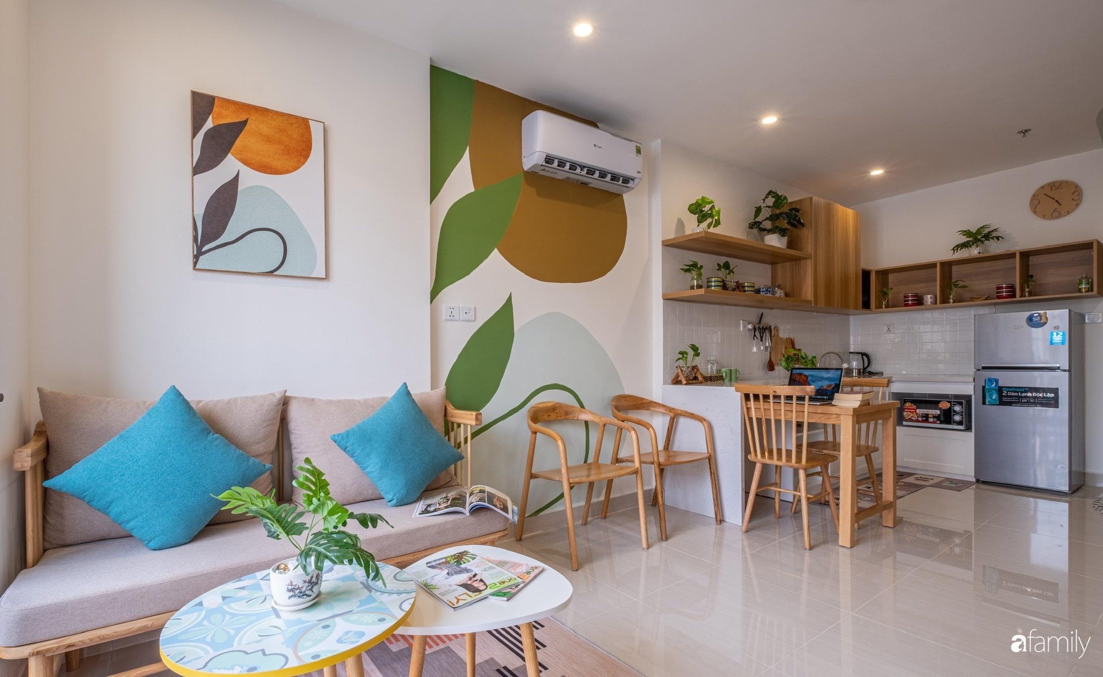 Căn hộ 40m² ở ngoại thành Hà Nội khiến ai ngắm nhìn cũng xuýt xoa vì đẹp có chi phí hoàn thiện 70 triệu đồng - Ảnh 3.