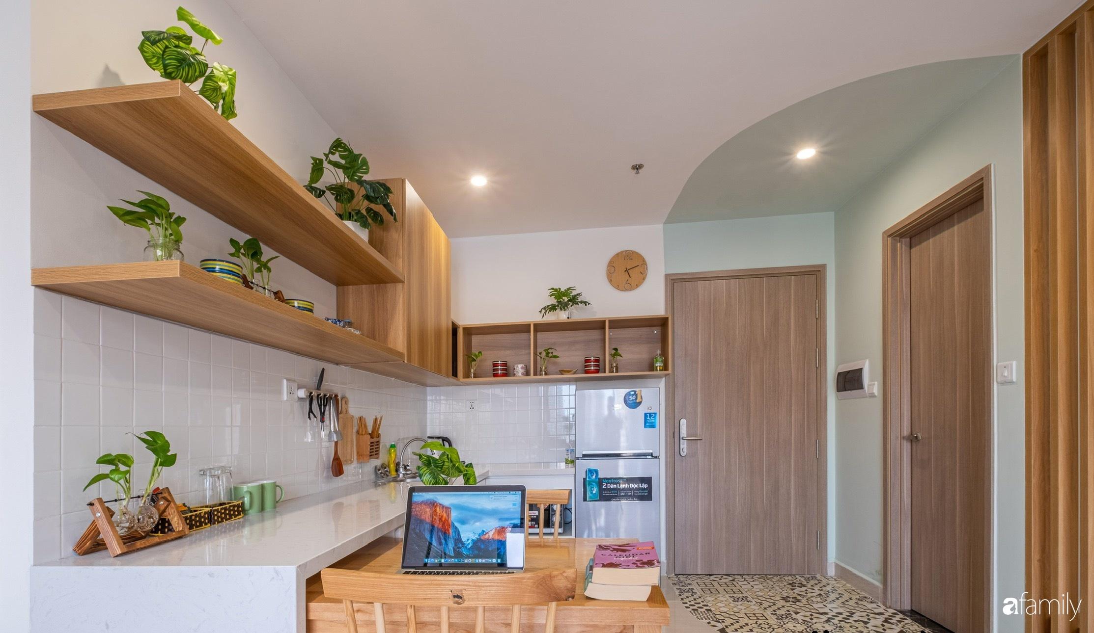 Căn hộ 40m² ở ngoại thành Hà Nội khiến ai ngắm nhìn cũng xuýt xoa vì đẹp có chi phí hoàn thiện 70 triệu đồng - Ảnh 4.