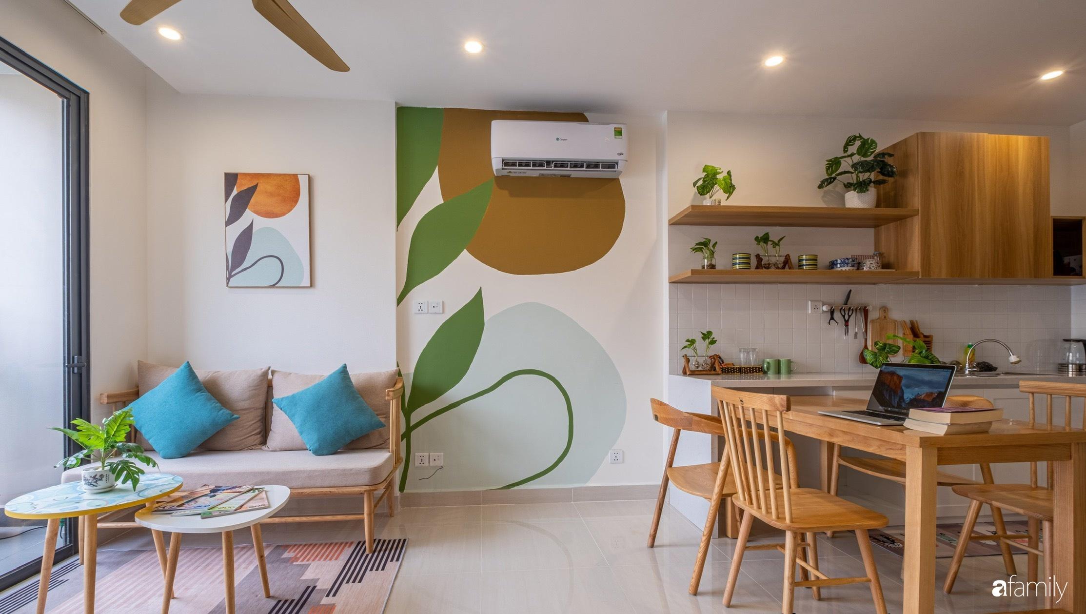 Căn hộ 40m² ở ngoại thành Hà Nội khiến ai ngắm nhìn cũng xuýt xoa vì đẹp có chi phí hoàn thiện 70 triệu đồng - Ảnh 14.