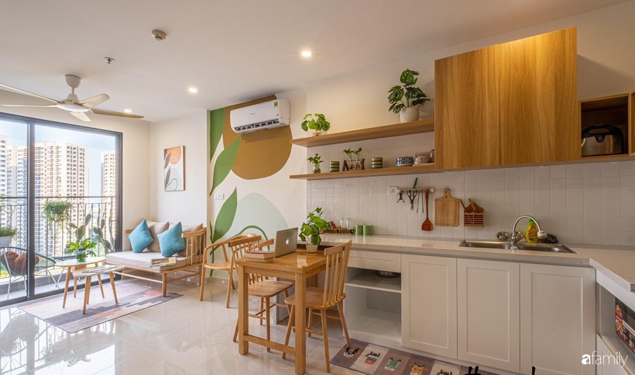 Căn hộ 40m² ở ngoại thành Hà Nội khiến ai ngắm nhìn cũng xuýt xoa vì đẹp có chi phí hoàn thiện 70 triệu đồng - Ảnh 5.