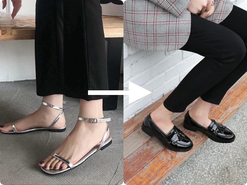 """Ngay khi thu về, đây là 2 kiểu giày dép cần """"về vườn"""" ngay tức khắc  - Ảnh 5."""