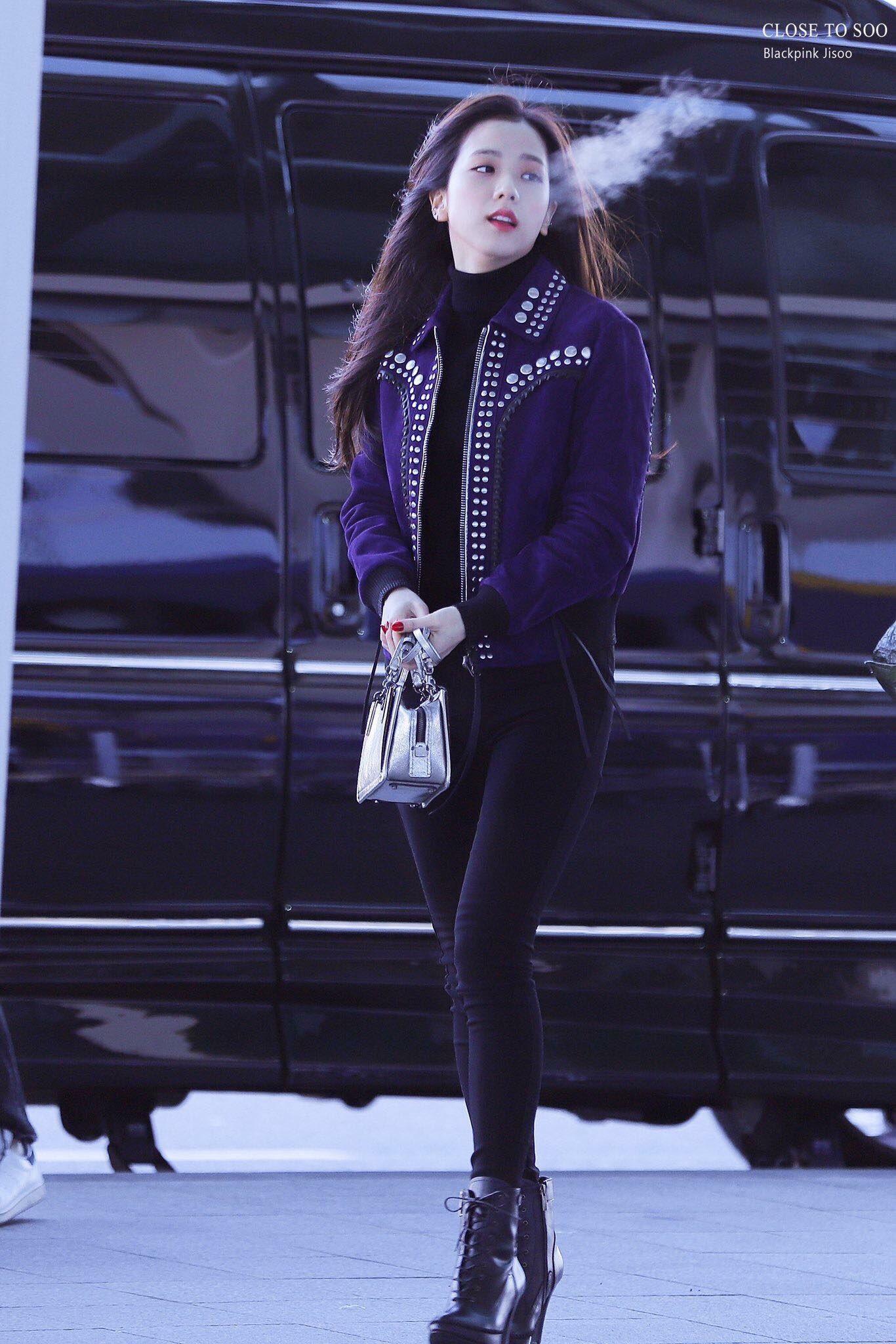 Jisoo có một điểm tuyệt phẩm ít người để ý nhưng lại giúp cô luôn đẹp như nữ chính ngôn tình tại sân bay - Ảnh 5.
