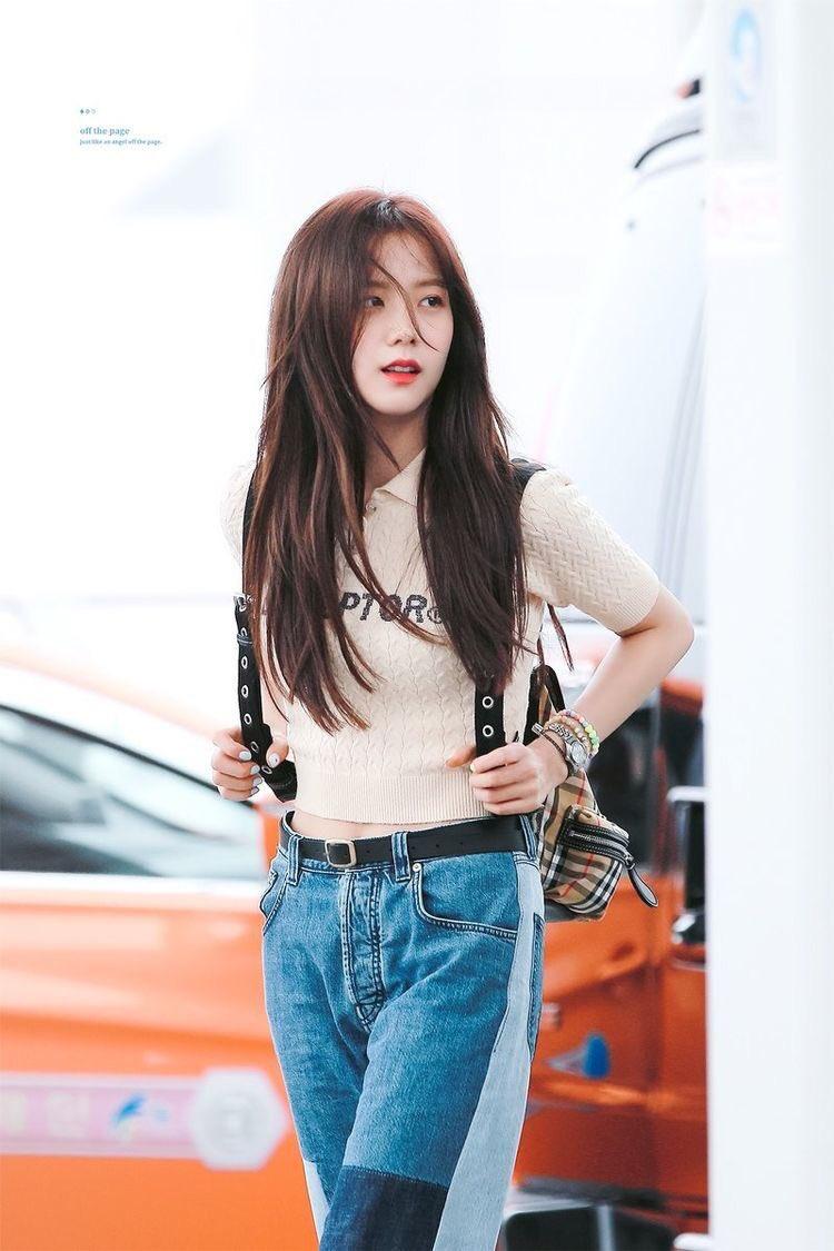 Jisoo có một điểm tuyệt phẩm ít người để ý nhưng lại giúp cô luôn đẹp như nữ chính ngôn tình tại sân bay - Ảnh 9.