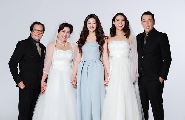 Khánh Vân làm dâu phụ trong đám cưới anh trai, dân tình dán mắt vào nhan sắc chị dâu từng thi Hoa hậu - Ảnh 5.