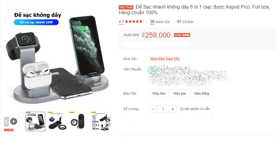 """Nhan nhản các loại sạc không dây giá rẻ chỉ từ 20K cho điện thoại và lời khuyên """"đáng tiền"""" từ nhân viên kỹ thuật điện thoại - Ảnh 3."""