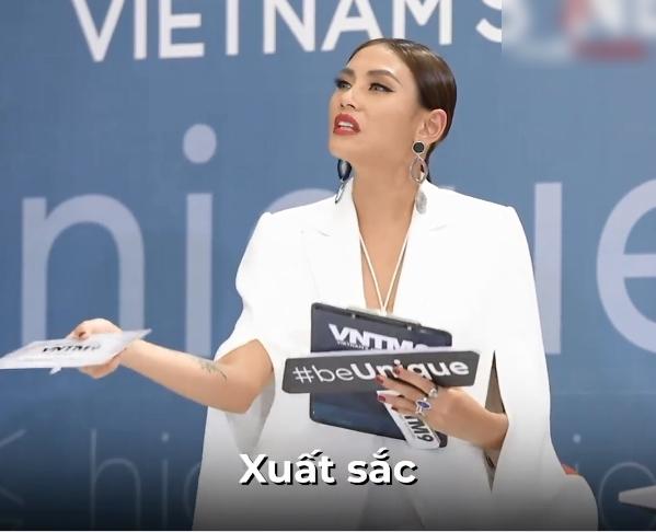"""Vietnam's Next Top Model: Thí sinh cosplay màn nhào lộn """"thảm họa"""" của Minh Hằng khiến Nam Trung - Võ Hoàng Yến đứng hình - Ảnh 6."""