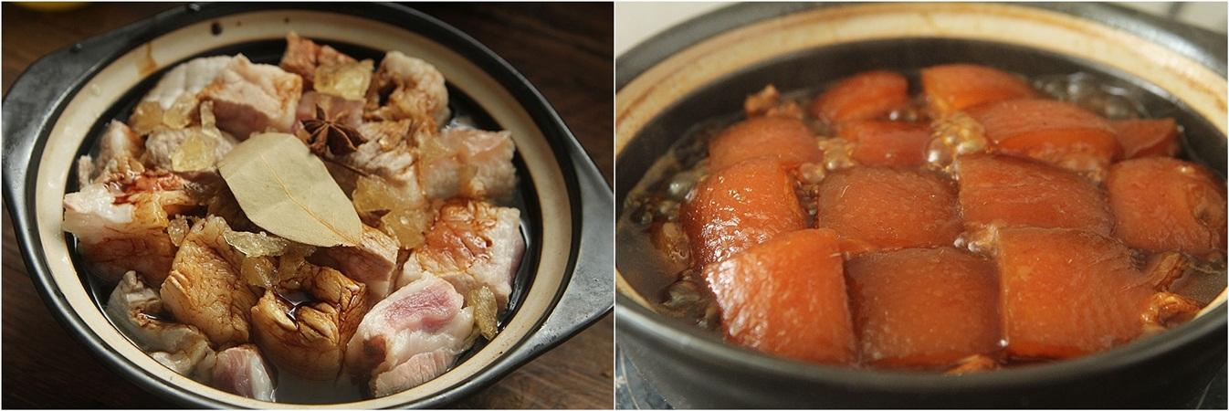 Thịt kho ai cũng biết, nhưng làm sao để có miếng thịt mềm thơm đậm màu đậm vị trong veo thì chẳng mấy ai hay! - Ảnh 4.
