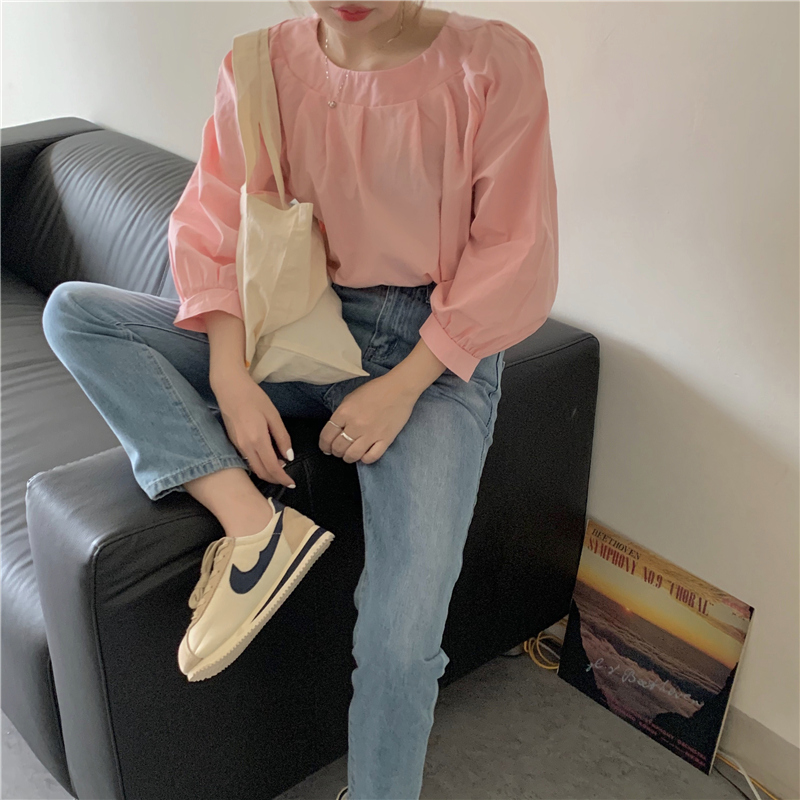 Áo blouse trơn màu đúng là chân ái của nàng công sở, có đến 10 cách diện mà cách nào cũng sang xịn hết cỡ - Ảnh 9.