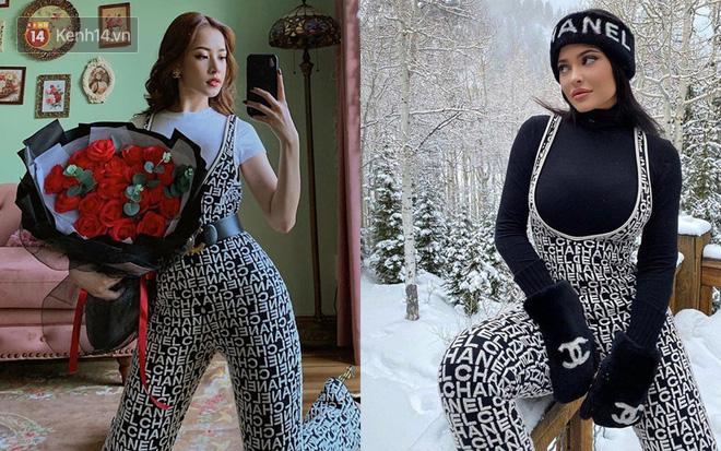 Hình như Chi Pu coi Kylie Jenner là idol thời trang thì phải: Hết lên đồ sexy y chang đến học theo cách pose hình phồn thực - Ảnh 3.