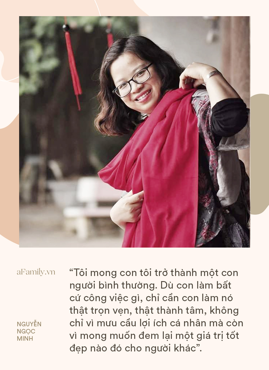 """Giảng viên Đại học Sư Phạm Hà Nội: """"Suốt mười năm, tôi cố gắng để không dạy con bất cứ điều gì to tát ngoài những thứ nhỏ bé bình thường"""" - Ảnh 3."""