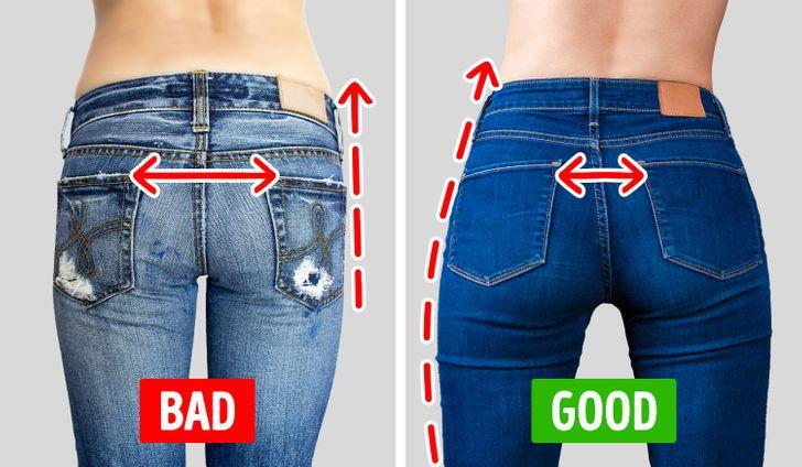 Chi tiết túi sau của quần jeans quyết định độ cong của vòng 3: Nàng mông lép  - Ảnh 2.