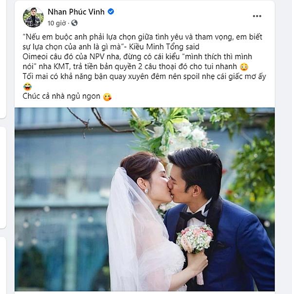 """Tình yêu và tham vọng: Náo loạn vì bộ ảnh cưới đẹp xuất sắc của Minh - Linh nhưng người trong cuộc lại ám chỉ là """"một giấc mơ"""" gây hoang mang - Ảnh 5."""