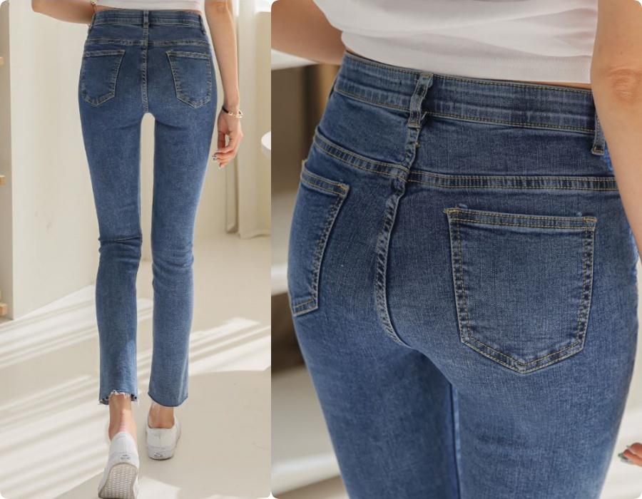 Chi tiết túi sau của quần jeans quyết định độ cong của vòng 3: Nàng mông lép  - Ảnh 3.