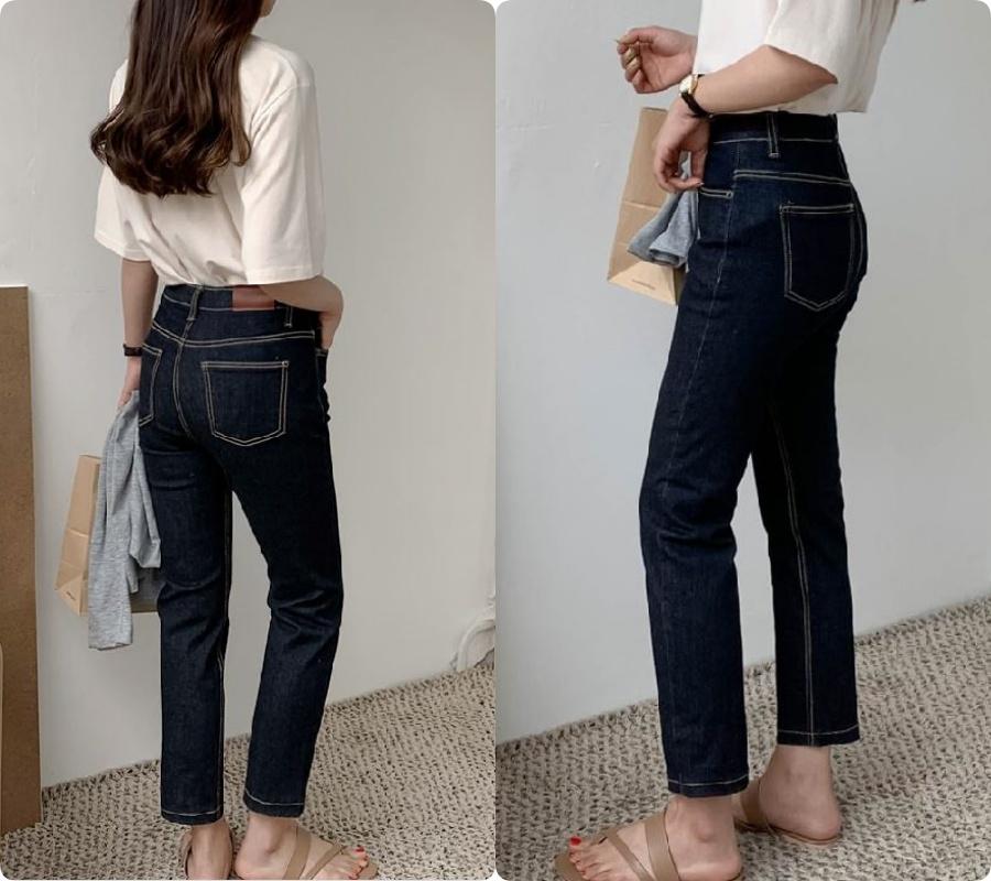 """Chi tiết túi sau của quần jeans lại quyết định độ cong của vòng 3: Chiêu """"cơi nới"""" chỉ dành cho nàng mông lép - Ảnh 7."""