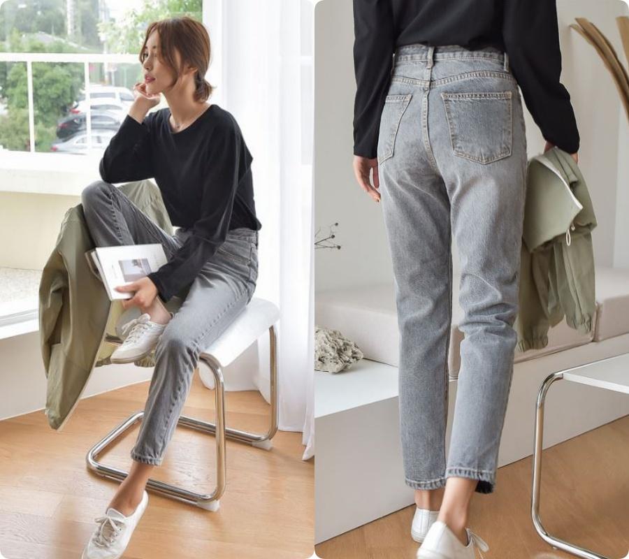 Chi tiết túi sau của quần jeans quyết định độ cong của vòng 3: Nàng mông lép  - Ảnh 4.