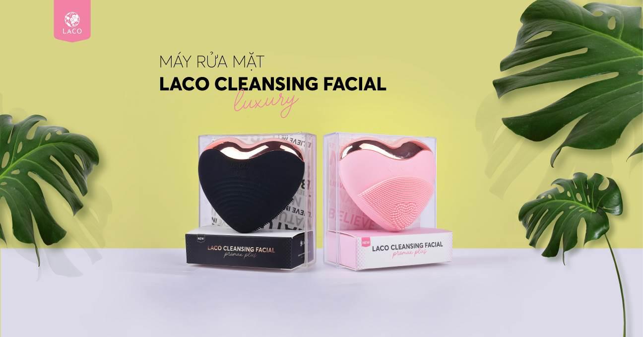 LACO mở bán Máy rửa mặt Laco Luxury kiểu dáng đẹp bất ngờ - Ảnh 1.