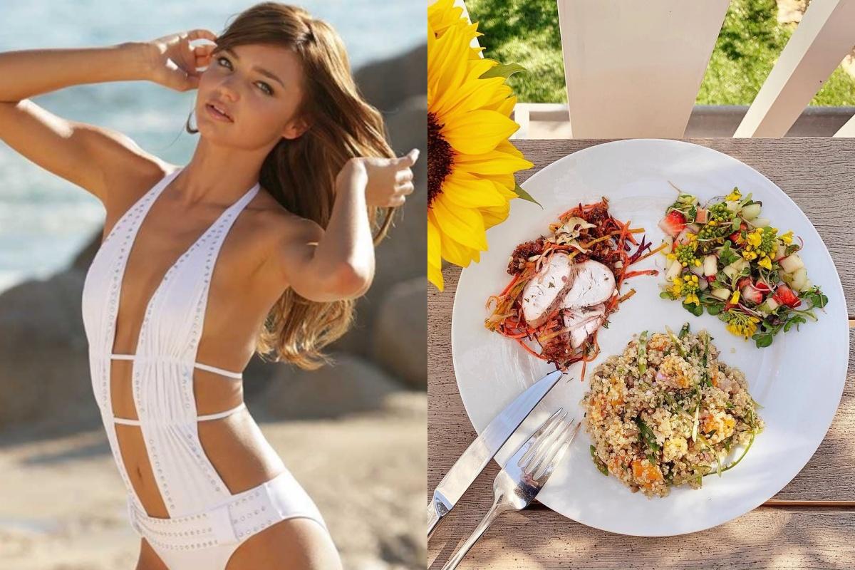 Để giảm cân hiệu quả và da dẻ hồng hào, bạn cứ học Miranda Kerr, Kate Upton… ăn salad mỗi ngày - Ảnh 1.