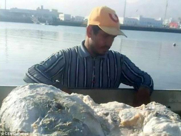 """Quăng lưới đánh cá rồi vớt được """"cục đá"""" có mùi thối khủng khiếp, người đàn ông đổi đời trong phút chốc vì nó là báu vật trị giá 57 tỷ đồng - Ảnh 1."""