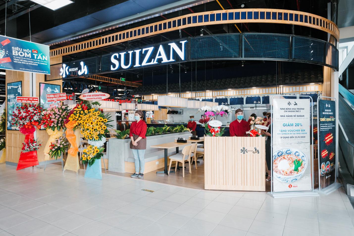 Thương hiệu mì Udon tươi hàng đầu Nhật Bản SUIZAN khai trương cửa hàng thứ 3 ở Lotte Mart Gò Vấp - Ảnh 3.