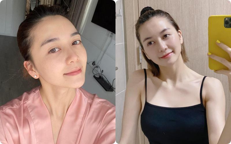 Rửa mặt theo cách của phụ nữ Nhật, Thiều Bảo Trang khoe thành quả da căng mịn, trắng như phát sáng ở tuổi 29
