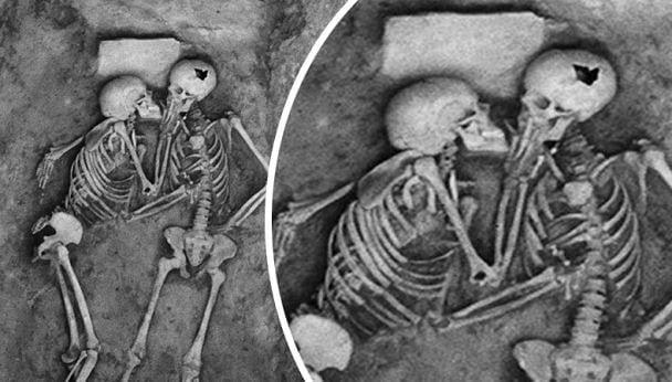 """Phát hiện bộ hài cốt 2.800 năm tuổi, các nhà khoa học sửng sốt vì tư thế lạ, hé lộ chuyện tình yêu của người xưa khiến con cháu ngày nay cũng phải """"nể"""" - Ảnh 2."""