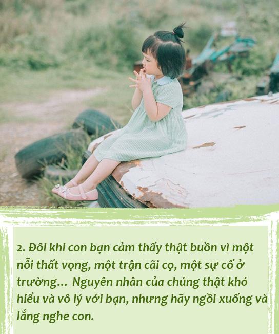 Bố mẹ sẽ tiếc nuối nếu không trao 5 điều này cho con trước khi khôn lớn và rời xa vòng tay của chúng ta - Ảnh 2.