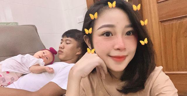 """Lại thêm 1 ông bố trẻ """"vừa đẹp trai vừa nhiều tiền"""": Vợ muốn đi làm lại sau sinh, Phan Văn Đức trả lời nghe mát lòng mát dạ - Ảnh 4."""