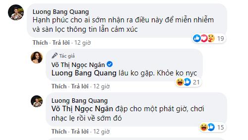 Ngân 98 bất ngờ gọi Lương Bằng Quang là người yêu cũ dù mới âu yếm nhau trên livestream - Ảnh 3.