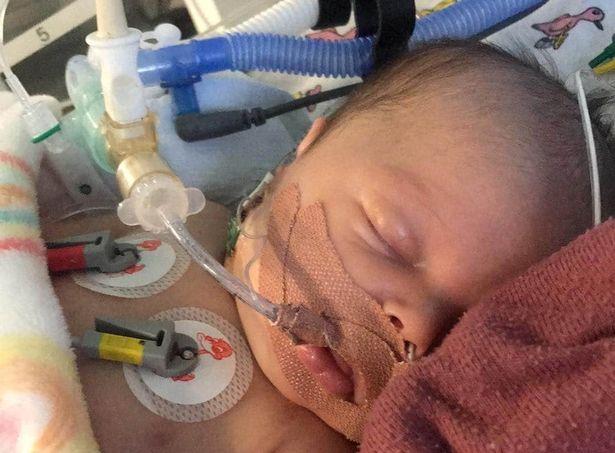 Bị sặc sữa khi bú bình, bé trai 17 ngày tuổi bỗng tím tái, tim ngừng đập tới 3 lần