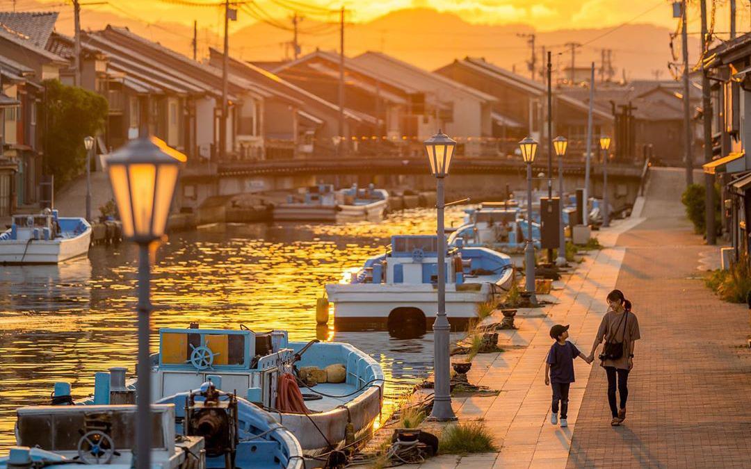 """Có một nước Nhật đẹp đến nao lòng qua ống kính của ông bố trẻ """"mê"""" chụp ảnh vợ và con trai, ai xem xong cũng """"tan chảy"""""""