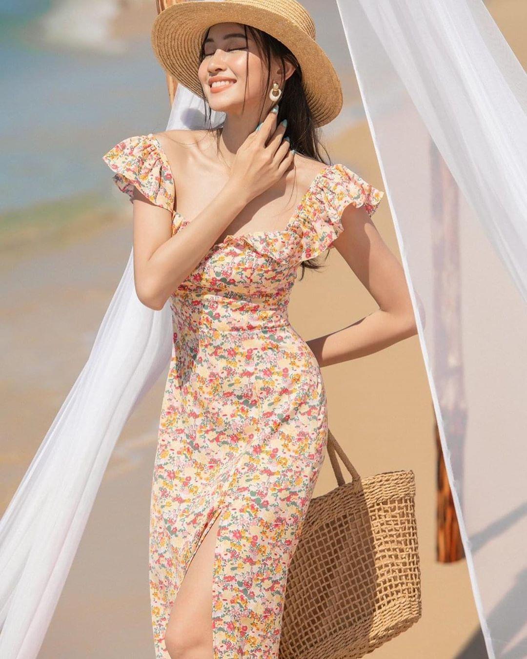 """Trời se lạnh mà """"quẩy"""" váy dáng dài là style sẽ yêu kiều như gái Pháp, điểm sang chảnh cũng tăng ngùn ngụt - Ảnh 8."""