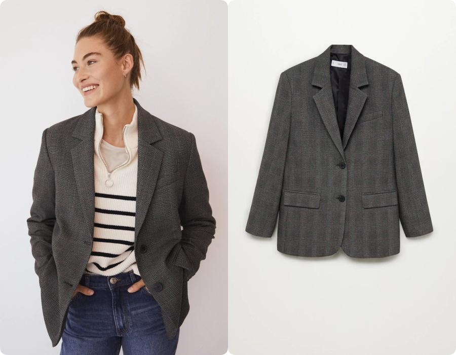 Thử 4 dáng blazer cơ bản của Zara và Mango, cô nàng blogger gốc Hàn chỉ rõ mẫu nào nên mua ngay, mẫu nào bỏ qua - Ảnh 13.