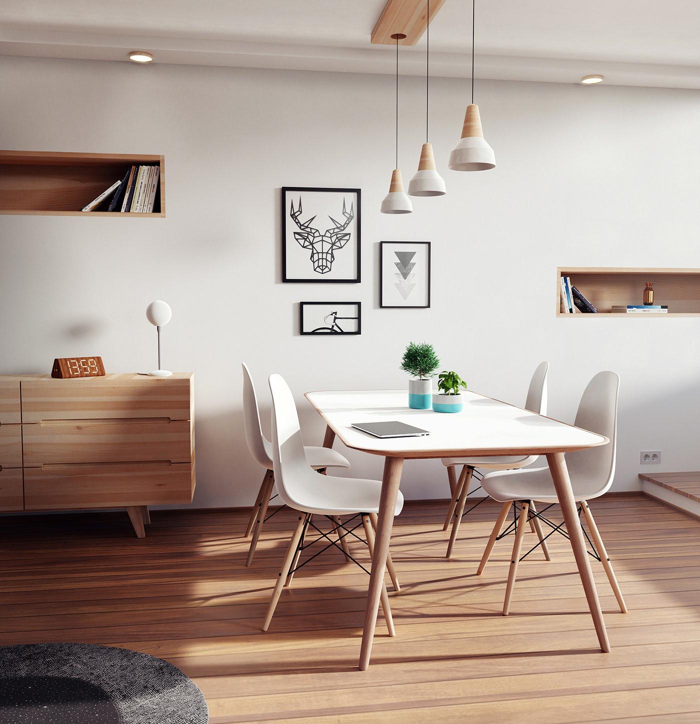 Tư vấn thiết kế nhà 2 tầng có diện tích 42m² gồm 2 phòng ngủ hiện đại với chi phí 164 triệu đồng - Ảnh 6.