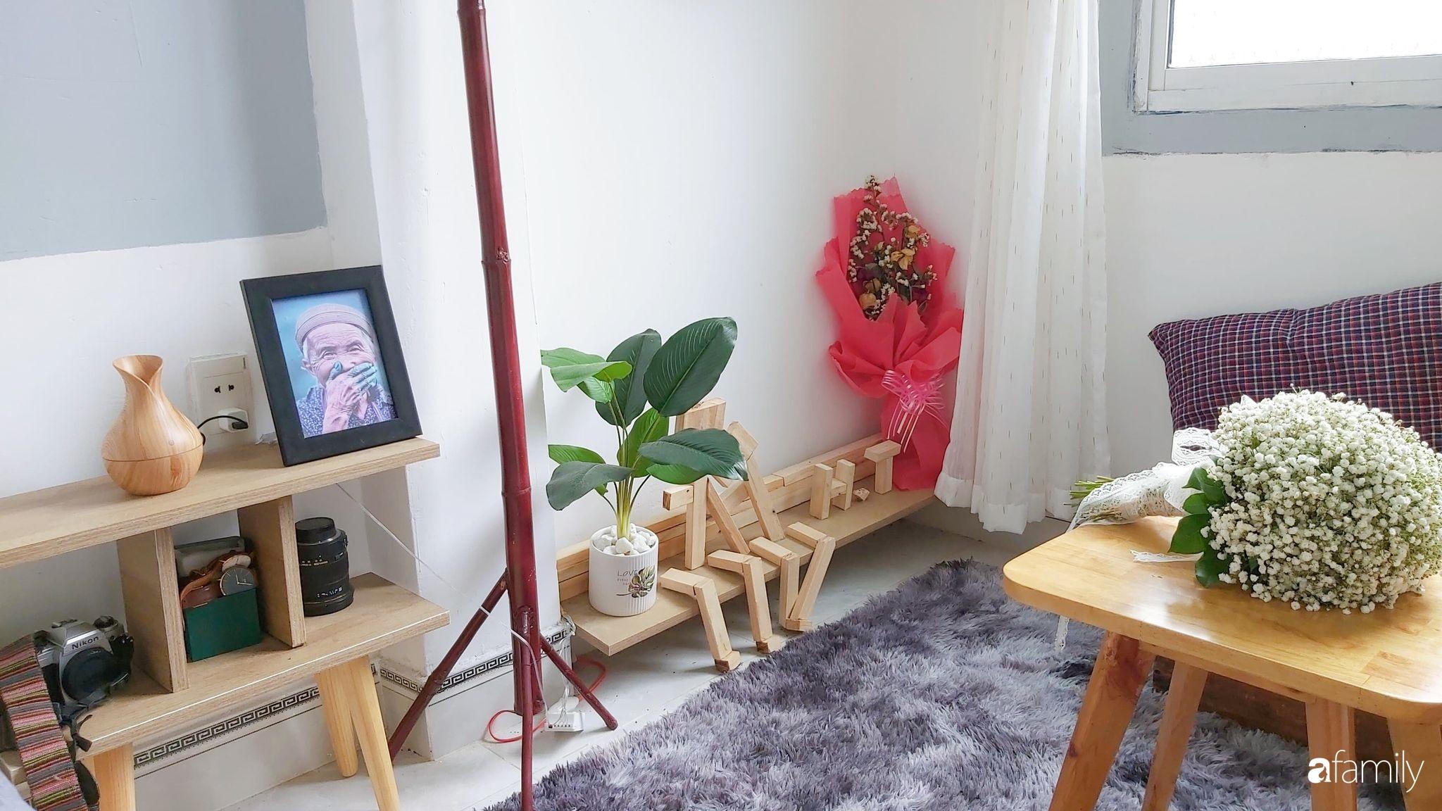 Chàng trai Đà Nẵng biến căn phòng độc thân thành không gian đẹp lãng mạn dành tặng vợ mới cưới có chi phí cải tạo 10 triệu đồng - Ảnh 10.