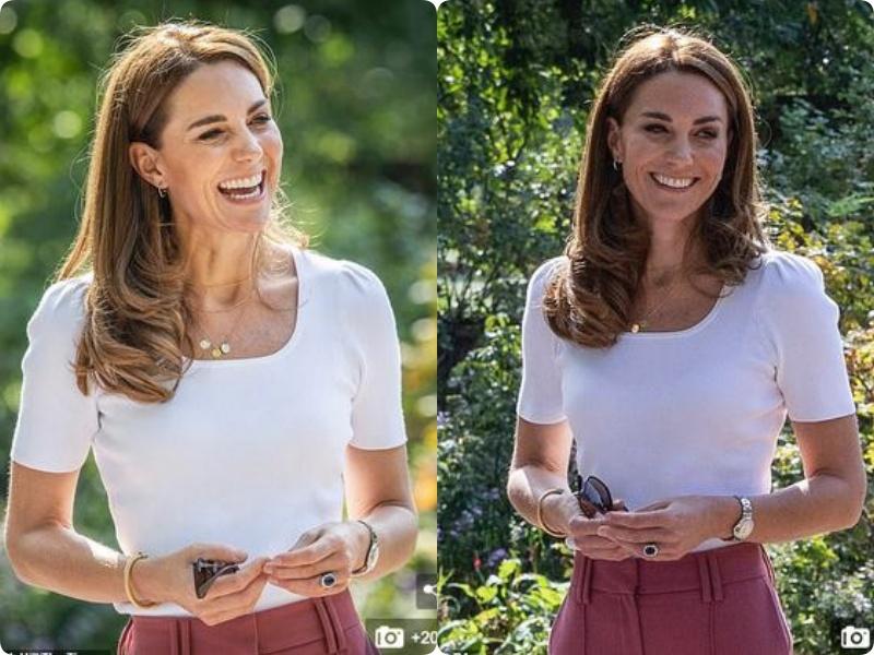Ở tuổi 38, Công nương Kate bị soi dấu hiệu lão hóa in hằn rõ rệt trên da sau 3 lần sinh nở: Rút kinh nghiệm từ Kate hị em đừng bỏ qua vùng da này trong bước skin care của mình - Ảnh 4.