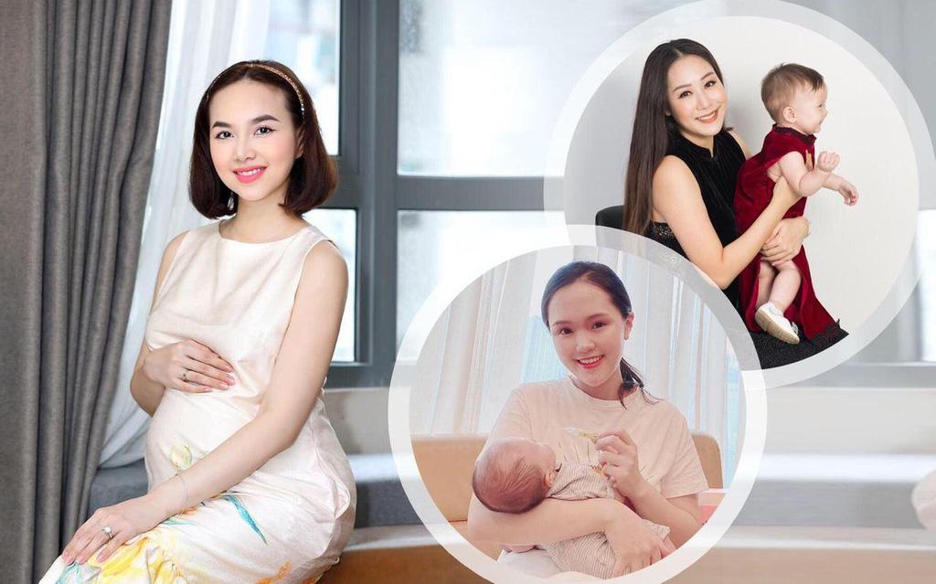Đinh Ngọc Diệp, công chúa béo Quỳnh Anh, Ngô Phương Lan đồng loạt chia sẻ bí quyết chăm con lớn khỏe