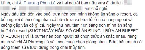 Thái Trinh và Phan Lê Ái Phương nhập viện khẩn cấp vì ngộ độc thực phẩm khi đi du lịch chung  - Ảnh 1.