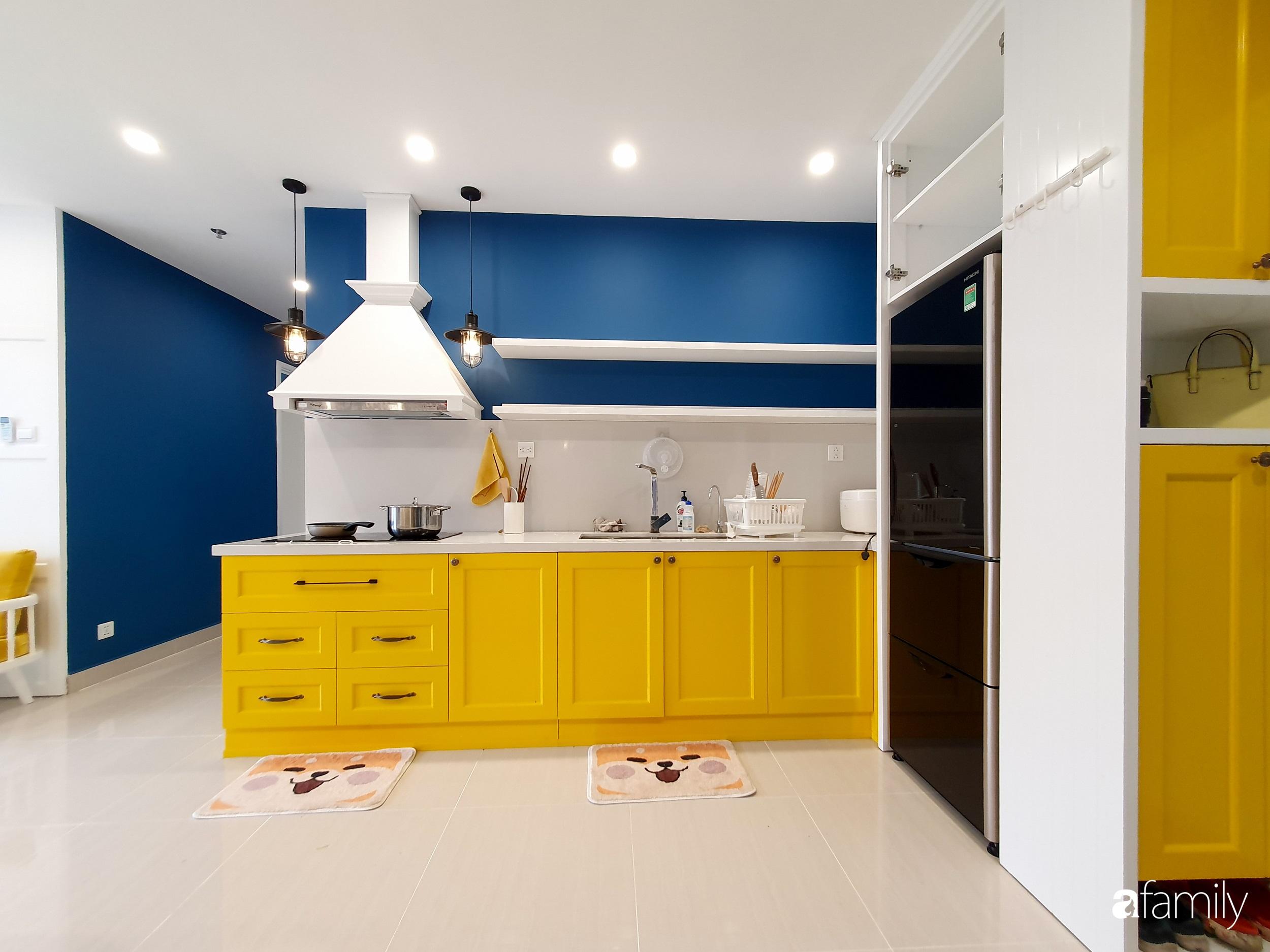 Căn hộ 75m² cá tính với cách phối màu vàng - xanh tinh tế có chi phí hoàn thiện 270 triệu đồng ở Hà Nội - Ảnh 5.