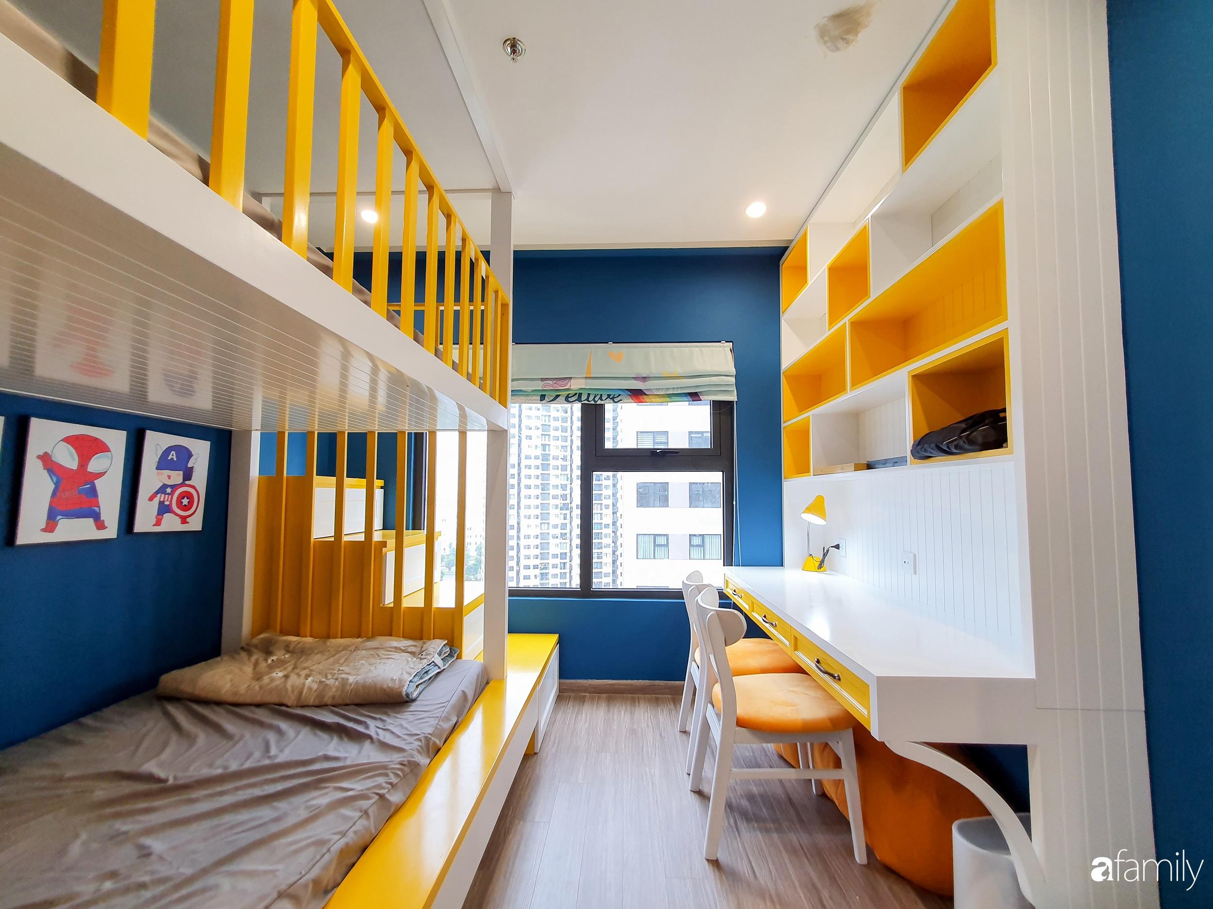 Căn hộ 75m² cá tính với cách phối màu vàng - xanh tinh tế có chi phí hoàn thiện 270 triệu đồng ở Hà Nội - Ảnh 15.