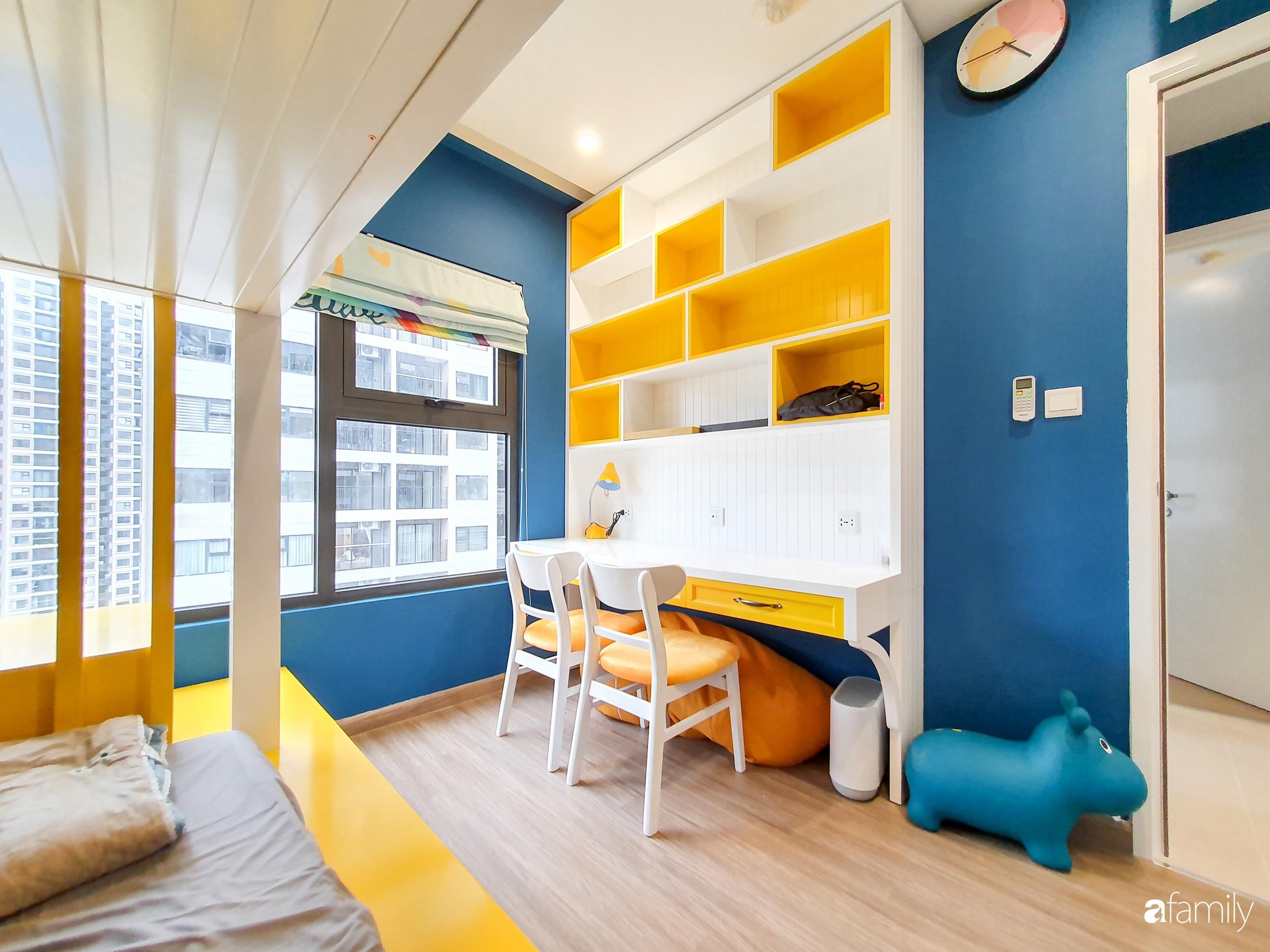 Căn hộ 75m² cá tính với cách phối màu vàng - xanh tinh tế có chi phí hoàn thiện 270 triệu đồng ở Hà Nội - Ảnh 16.