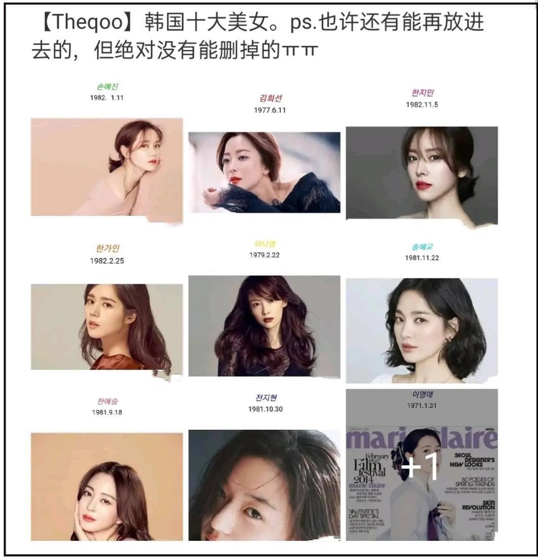 BXH top 10 mỹ nhân đẹp nhất xứ Hàn: Hoàn mỹ như Song Hye Kyo, Son Ye Jin vẫn phải lùi bước trước một người đẹp 49 tuổi  - Ảnh 1.
