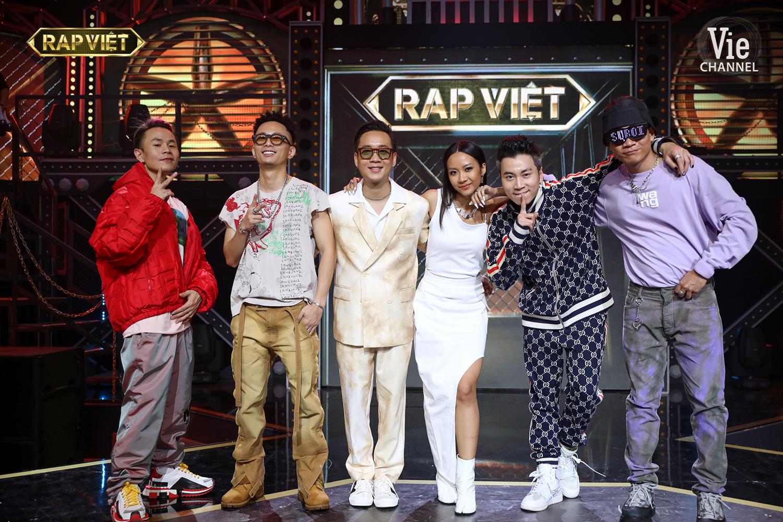 """""""Rap Việt"""": Suboi tung dàn chiến binh khủng, Gừng - Tage đối đầu cực căng khiến Trấn Thành cũng phải """"đau đầu"""" - Ảnh 4."""