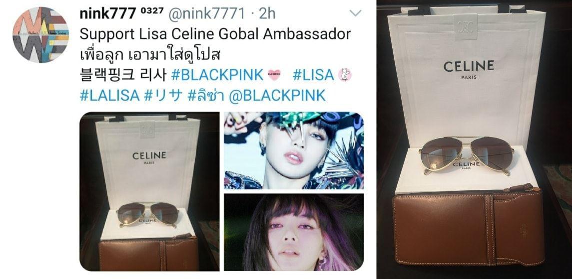 Nể fan của Lisa: Chốt đơn liên tục, mua cả tá đồ Celine mừng idol thành đại sứ toàn cầu - Ảnh 11.