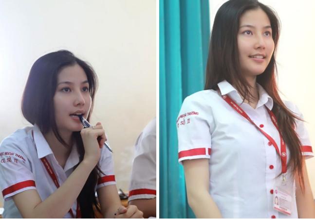 Sao Việt thời đi học: Người điệu sớm, người xinh không cần son phấn, người chân phương ngỡ ngàng - Ảnh 2.