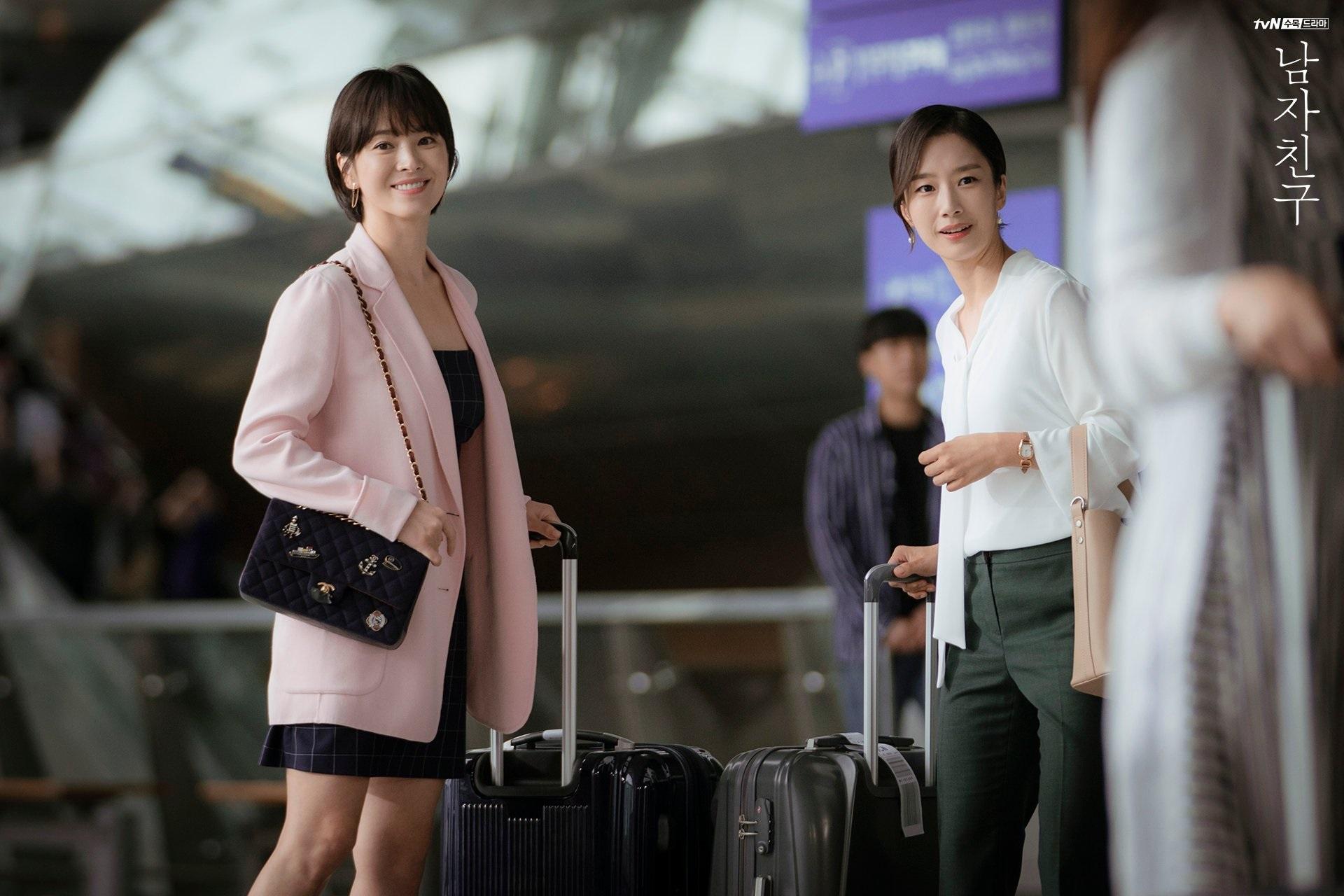 3 kiểu blazer sao Hàn hay diện trong phim, đã đẹp tinh tế còn không bao giờ lỗi mốt, nàng công sở rất nên học theo - Ảnh 2.