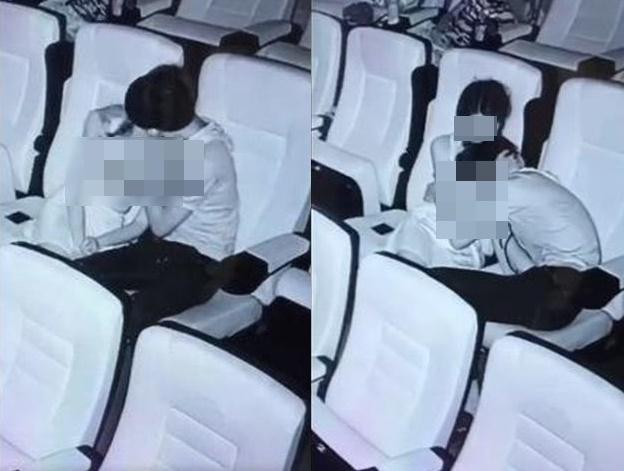 """Nam thanh niên dùng bàn tay hư hỏng sờ soạng bạn gái giữa rạp chiếu phim, đáng chú ý nhất là thái độ của """"khổ chủ"""" - Ảnh 2."""