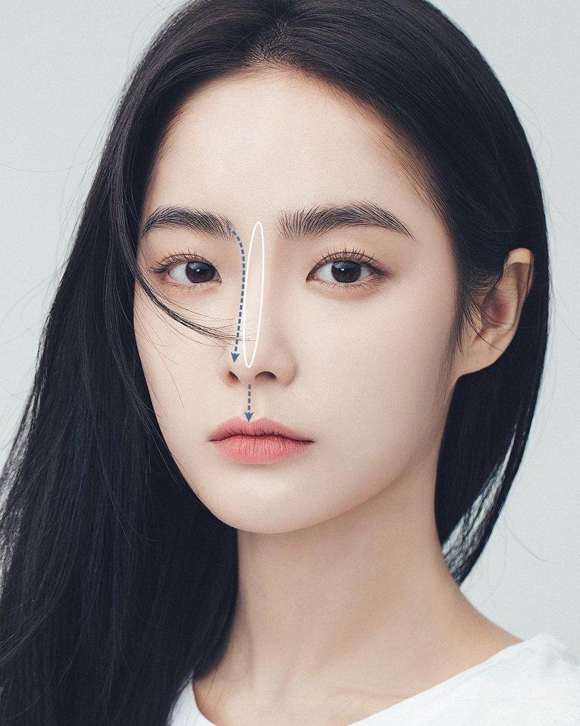 Mũi tẹt và mặt to nhưng gương mặt của cô nàng này đã thay đổi hoàn toàn nhờ tuyệt chiêu makeup - Ảnh 4.