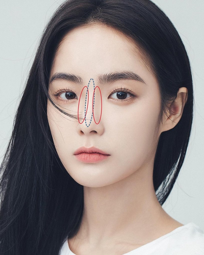 Mũi tẹt và mặt to nhưng gương mặt của cô nàng này đã thay đổi hoàn toàn nhờ tuyệt chiêu makeup - Ảnh 7.