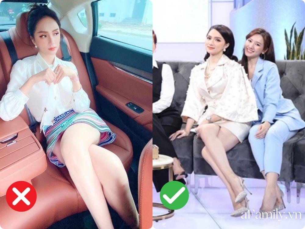 Lại chuyện dáng ngồi khi diện váy ngắn: Bảo Thy, Hương Giang suýt hớ hênh, ngồi thế nào cho thật tinh tế cũng là một kỹ năng - Ảnh 7.